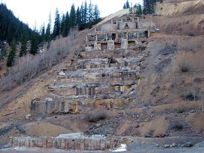 Not much left of Sunnyside Gold Mine