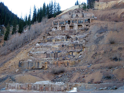 Not much left of Sunnyside Gold Mine