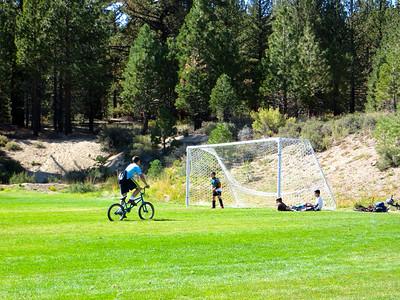 Julian's soccer practice