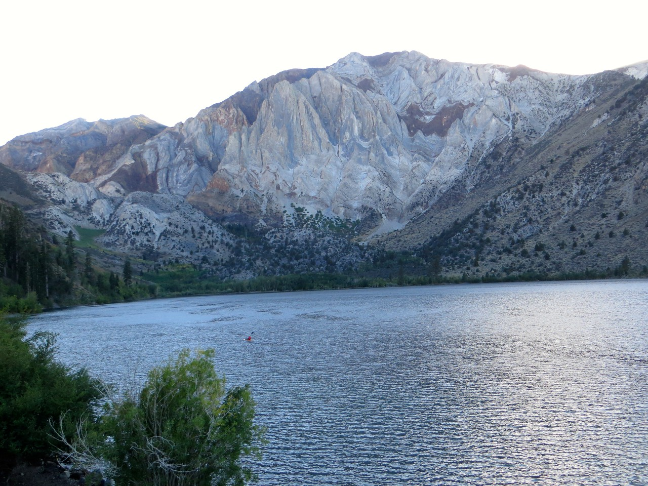 Convict Lake, with Laurel Mountain in the background
