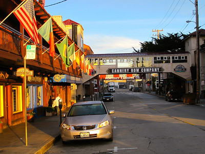 Cannery Row at sunrise