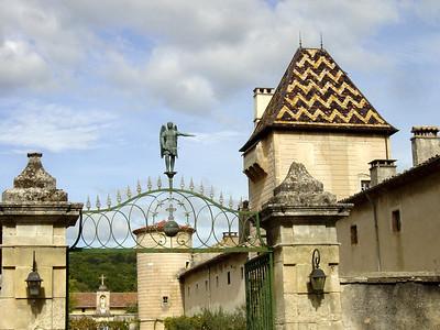 Entrance Chartreuse de Valbonne http://www.chartreusedevalbonne.com/home.htm