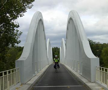 Bridge crossing the Chassezac River