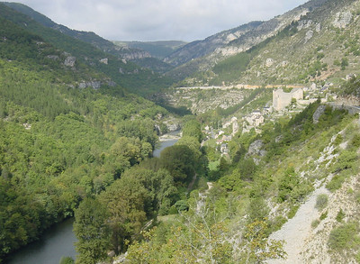 View of the Gorges du Tarn