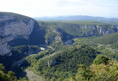 Kayaking on the Ardeche would be fun