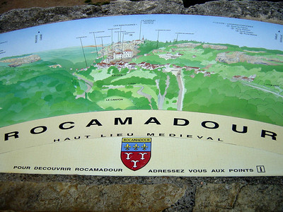 To learn more about Rocamadour: http://www.rocamadour.com/