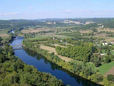 View of the Dordogne river (from Domme)