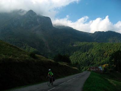 Long climb to Col de la Core