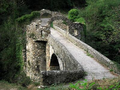 Pont du Diable (day ride from Tarascon to Foix)