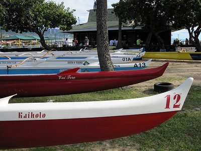 Outriggers in Kona