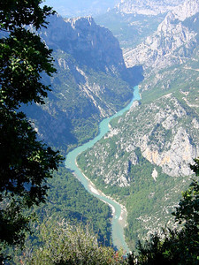View of the Verdon