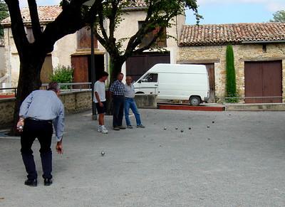 Petanque in Luis