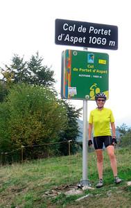 The steepest climb: I am tired  http://en.wikipedia.org/wiki/Col_de_Portet_d'Aspet