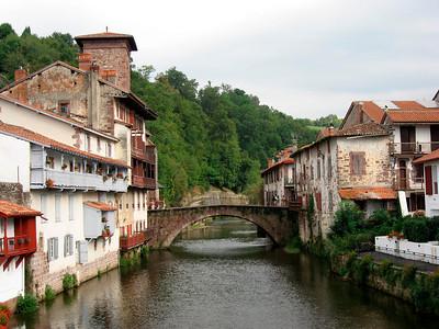 Famous bridge in St Jean Pied de Port
