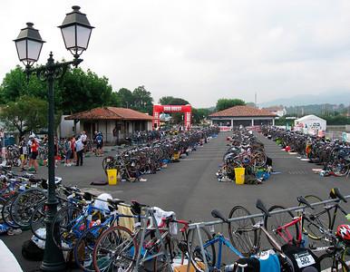 Famous triathlon in Saint Jean de Luz