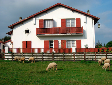 Typical basque home