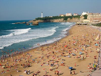 Beach in September