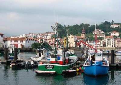 Fishing port in Saint Jean de Luz