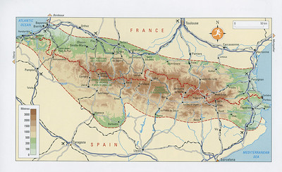 Overview of the Pyrenees