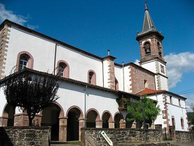 Iglesia in Lekaroz.