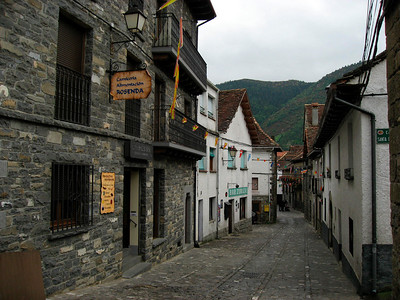 Small streets in Anso