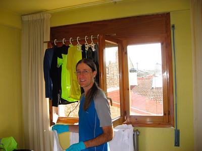 Laundry in Jaca