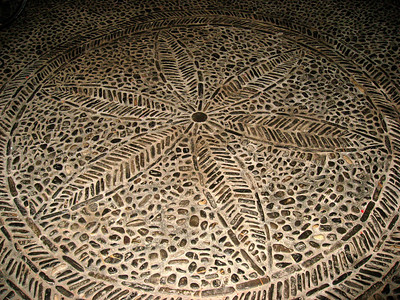 Ochagavia (details of the floor)