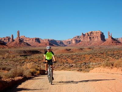 Biking in Utah