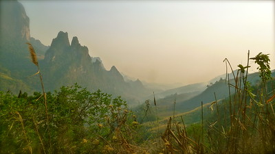 Lovely jubbly hills of Laos