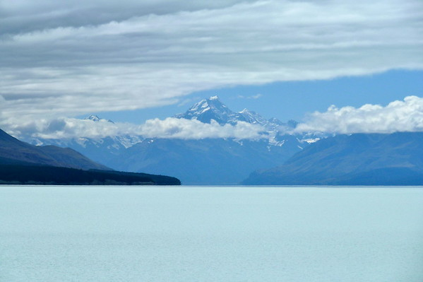 Lake Pukaki mit de Mt. Cook, NZ (Feb 2011)