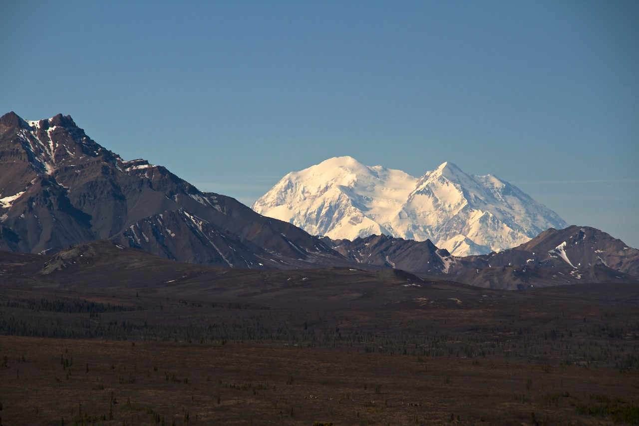 Mt McKinley in all its glory.