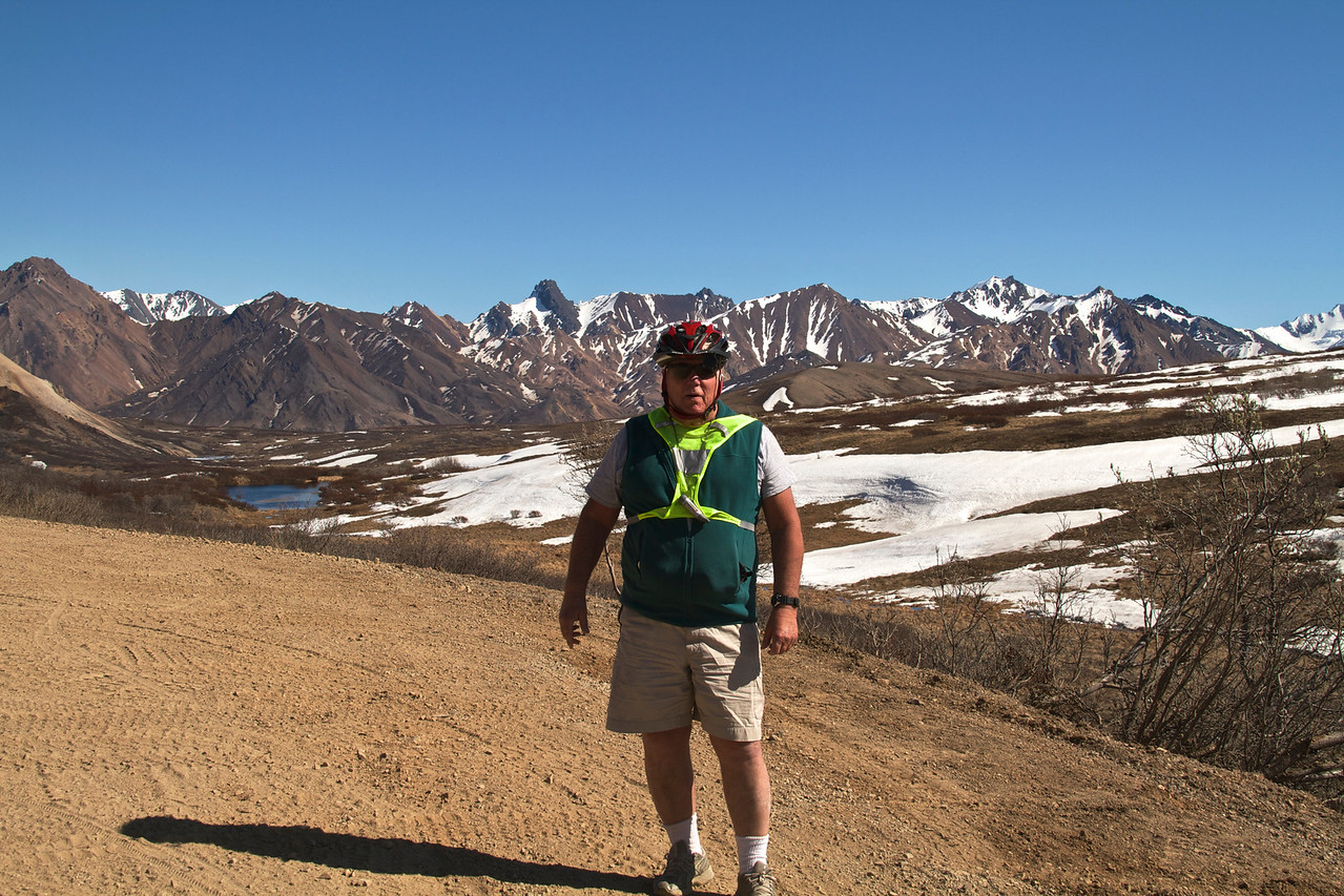Bill on Sable Pass