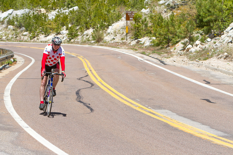 going down from Mt. Lemmon back to Tucson
