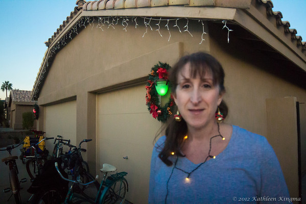 Ahwatukee Christmas Lights Cruiser Ride 2012
