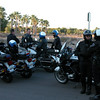 Gilbert and Mesa police provided escort for the riders.