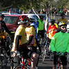 A quick stop at the conclusion of the escorted portion of the ride at Mike's Bikes in Mesa