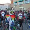 An estimated 600 riders participated