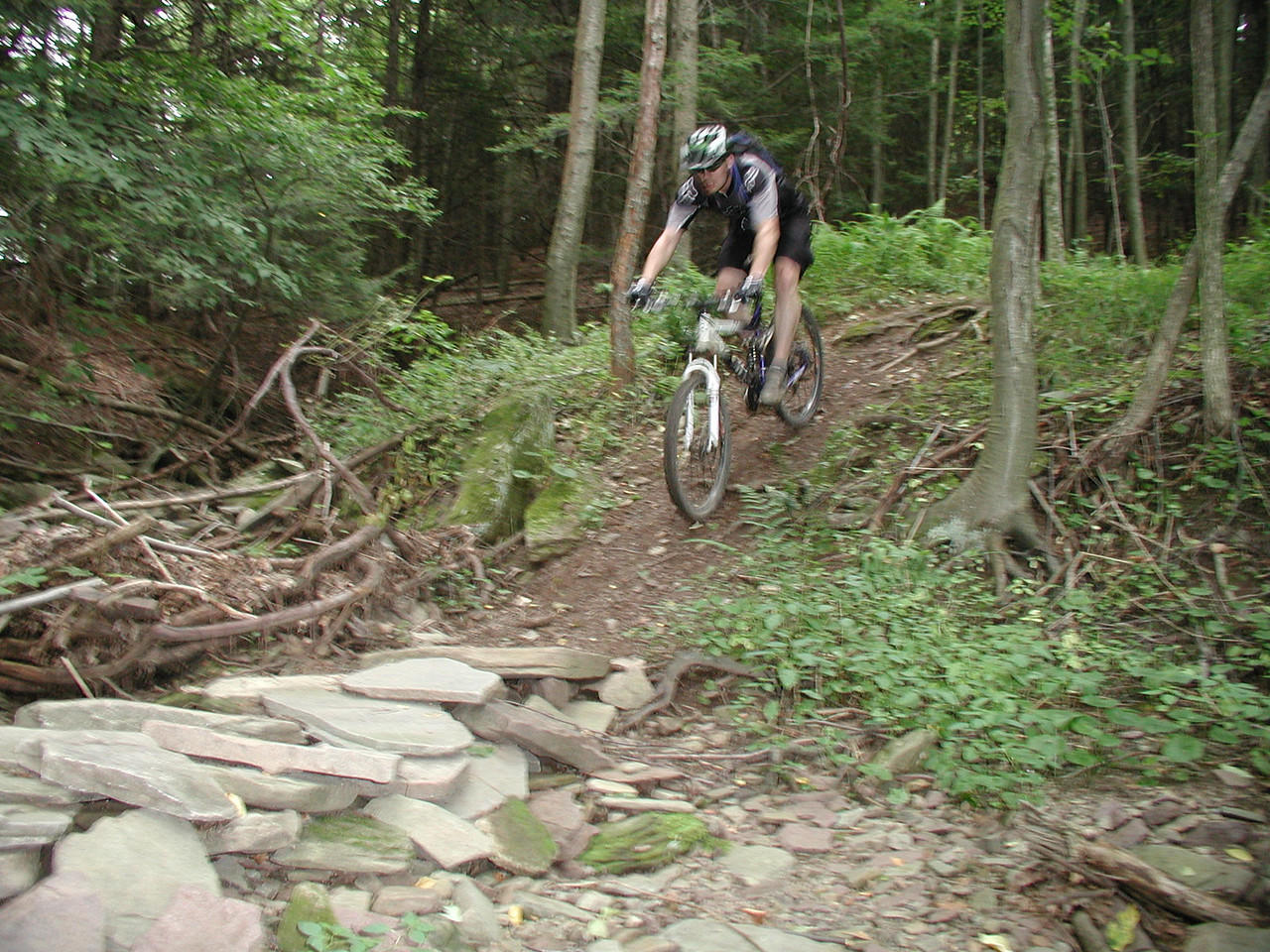Michael makes all the hard stuff look easy, Poconos, August  04.