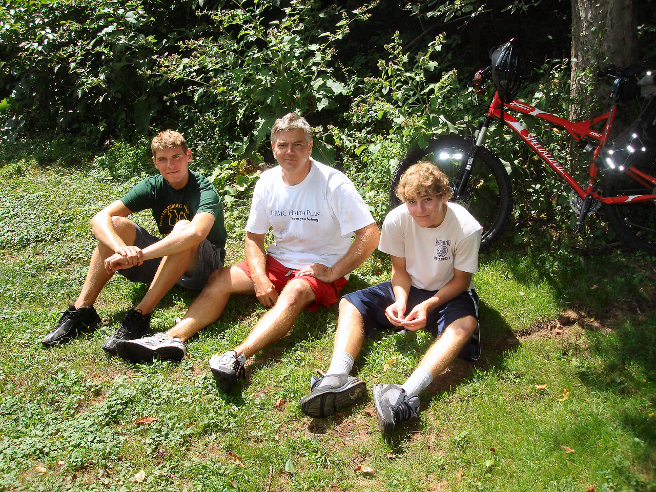 Jasent, Dave, & Jarred - Newbies that had a great ride.