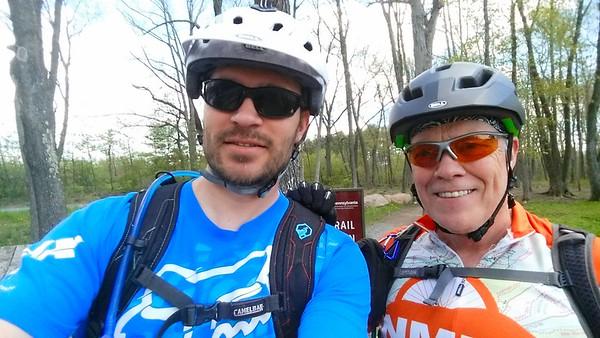 Mike & Rob Ride Nockamixon Trails