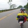 Jim Wagnitz surveys the Lake Erie shoreline in NE Ohio.
