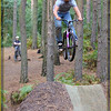 """Getting Some Air"" in Chicksands Woods Bedfordshire England 2010."