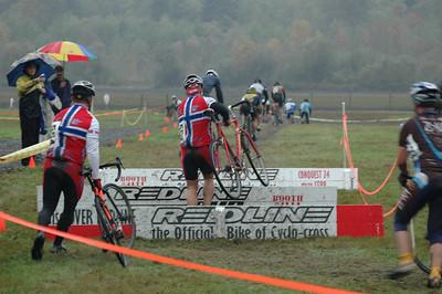 SCC#3 Cyclocross - Kelly Creek, October 2006
