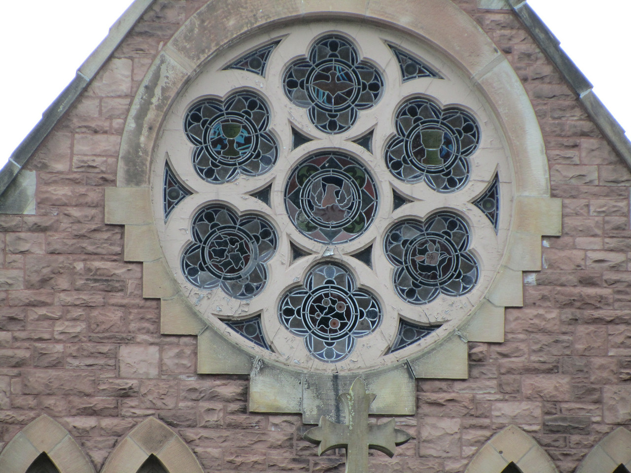 Rose Window ala Notra Dame.