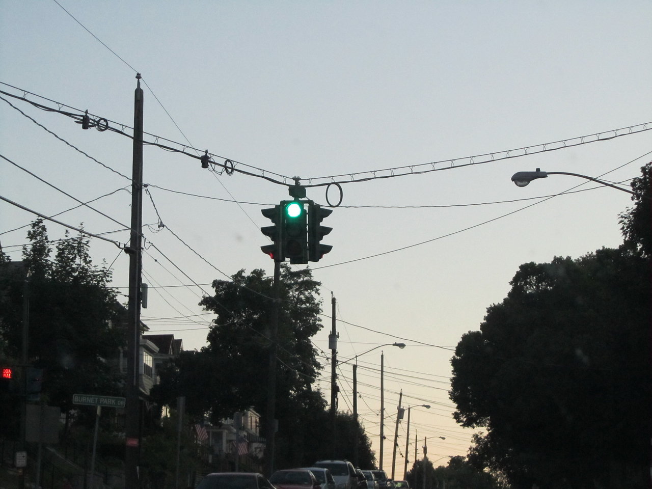 An interesting stop light on Tipperary Hill, Syracuse. Notice anything different about it? The only street light in the US where green is on top. Apparently my peeps would throw rock at the bulbs and break them until the city put green on top of red, which makes sense since Irish are superior to all other nationalities.