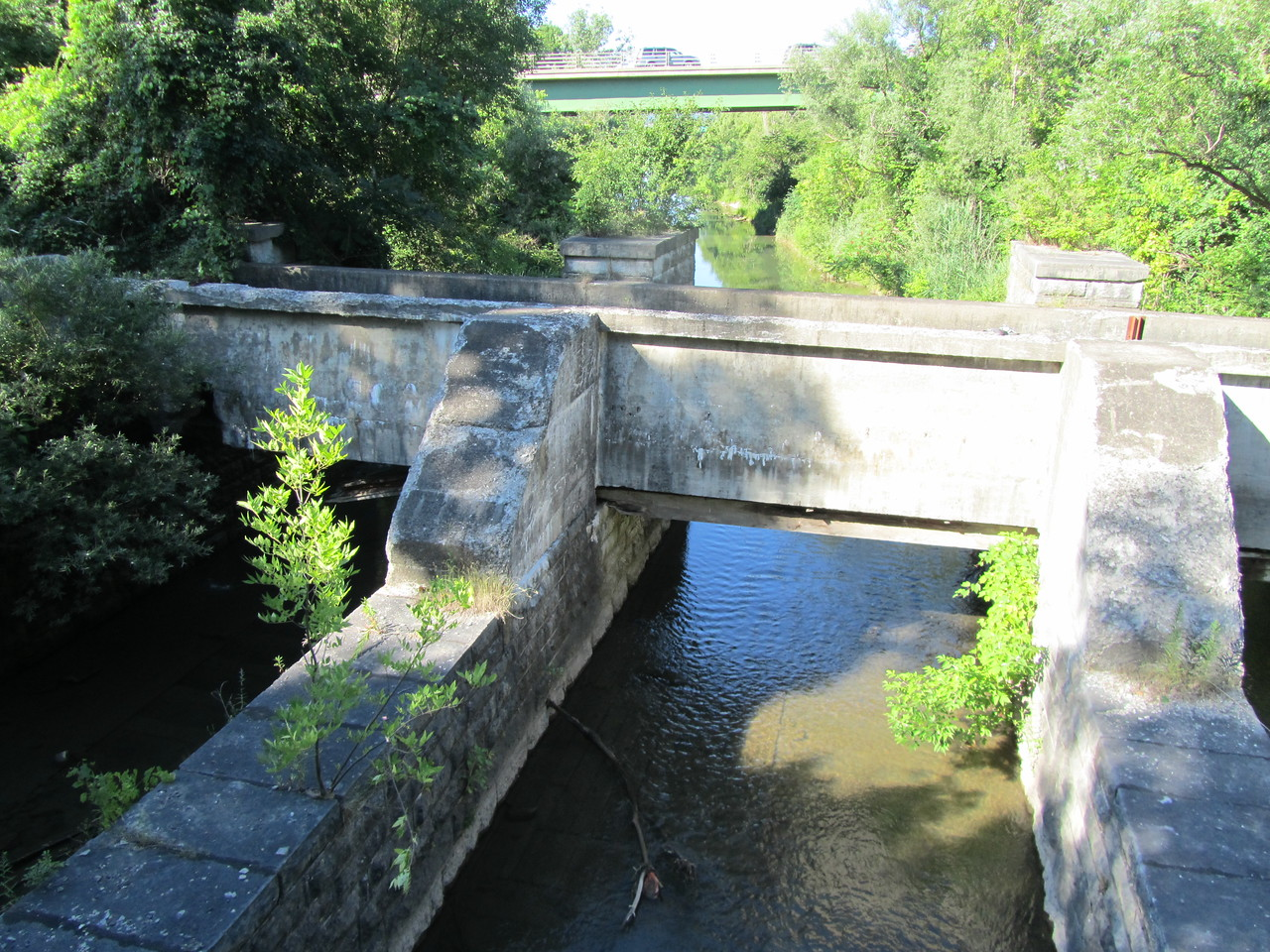 Another aquaduct carrying a creek over a creek.