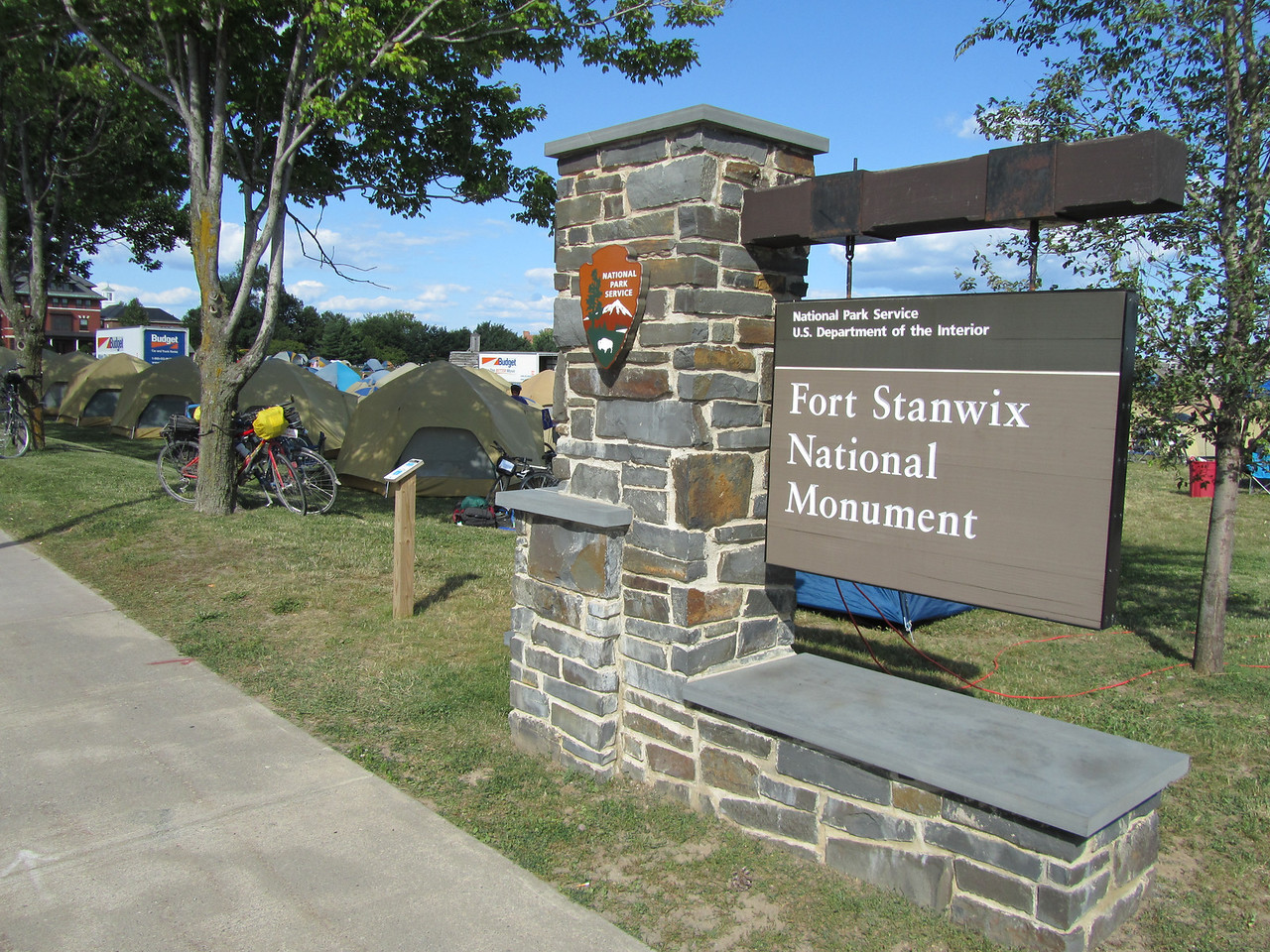 The National Park overrun by a hardcore biker gang.