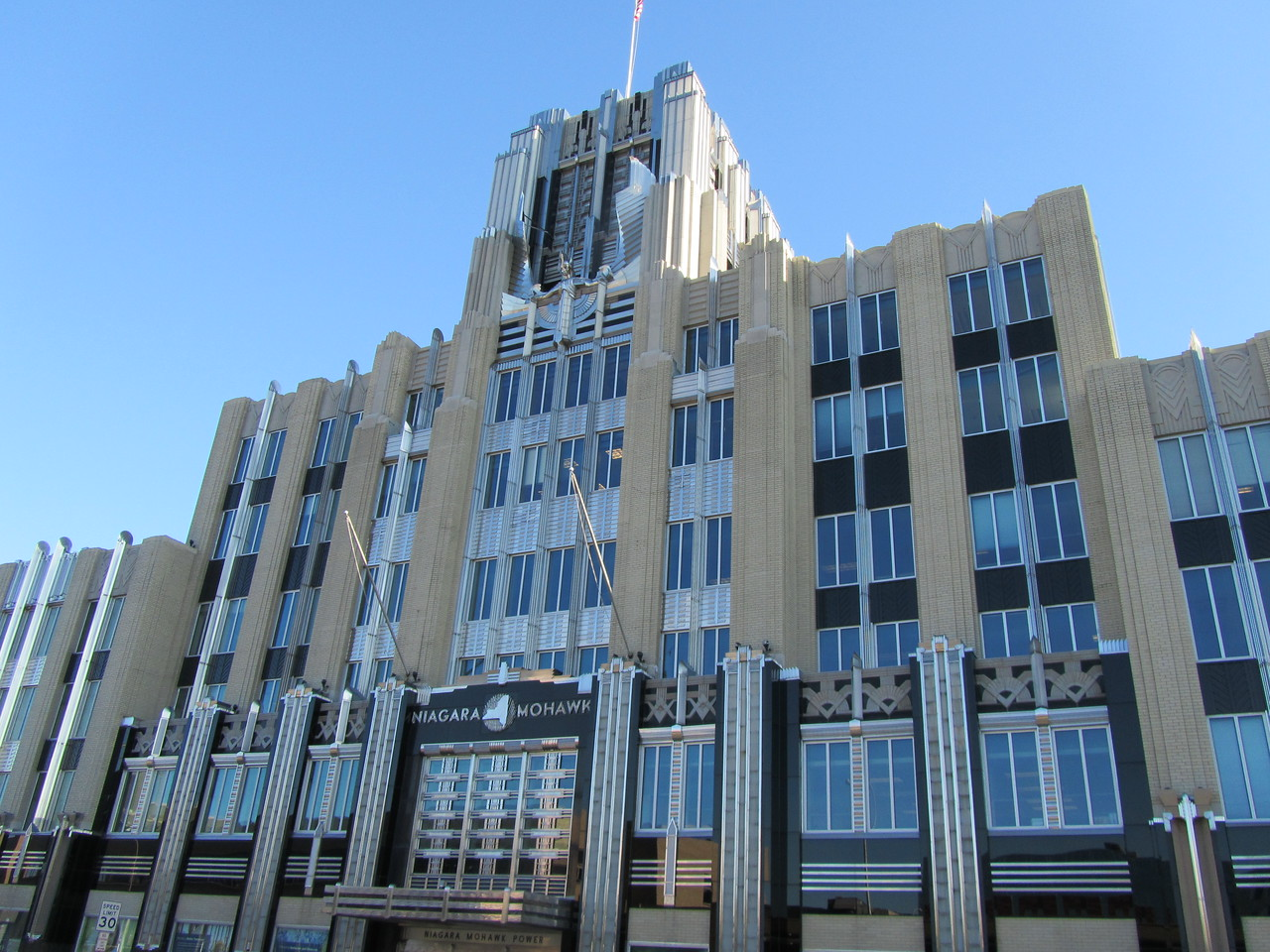 Art deco Niagara Mohawk power authority.