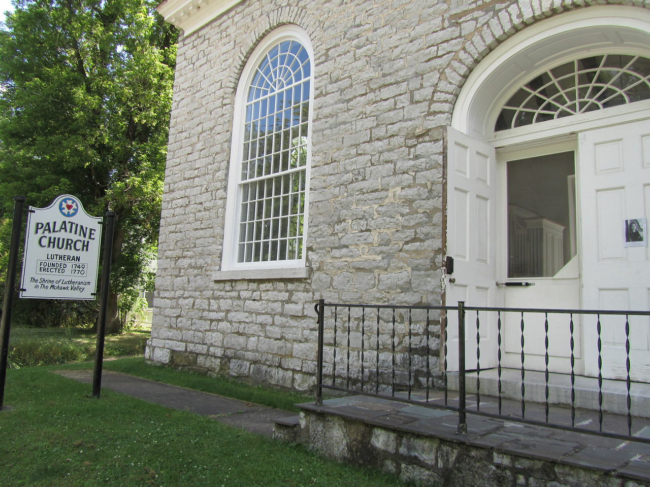 Palatine church of 1770.