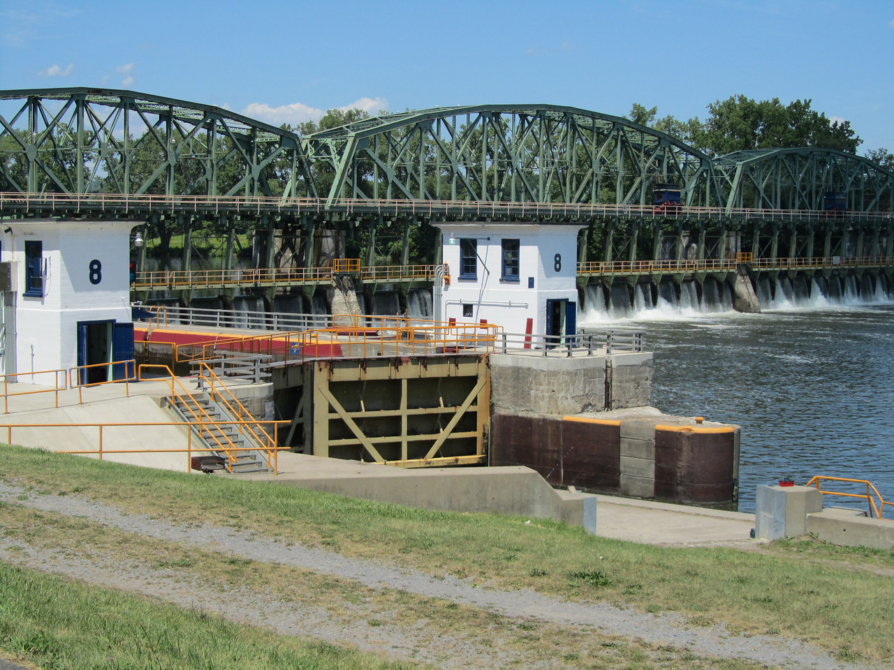 Lock 8 near Scotia.